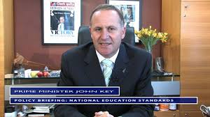 John Key on National Standards - YouTube