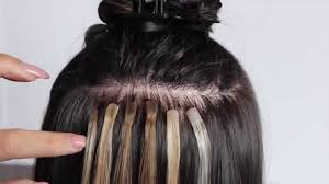 tape in hair extensions how to apply