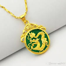 chinese ancient mascot dragon pendant