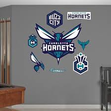Charlotte Hornets Logo Wall Decal Allposters Com