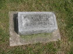 Mattie West Tolley (1874-1896) - Find A Grave Memorial