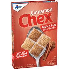 cinnamon chex gluten free cereal