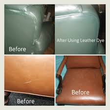 cuts and ses on a leather sofa