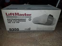 liftmaster 8355 3280 1 2 hp ac belt