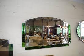 original art deco mirror with beautiful