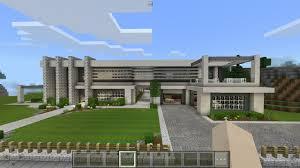 villa de luxe minecraft pocket edition