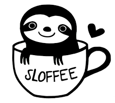Diy Sloth Sloffee Vinyl Decal Coffee Cup Car Window Decal Laptop Decal Tablet Decal Cell Phone Decal Frame It Coffee P Cell Phone Decals Vinyl Decals Cup Decal