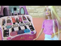 barbie doll makeup set toy funny story