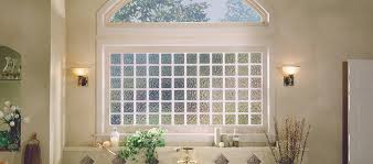 modern design ideas with glass block
