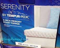 serenity by tempur pedic memory foam