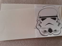 La Super Mamy Cumple Invitacion Stormtrooper Star Wars