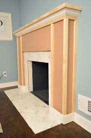 our fireplace makeover building a new