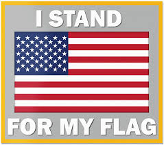 Amazon Com Best In Auto Usa Flag I Stand For My Flag Us Flag Decal Vinyl Sticker Color Car Rear Window 4 Inches Truck Van Suv Automotive