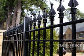 Authentic Wrought Iron And Aluminum Fence It S All About The Finial Tips Iron Fence Shop Blog