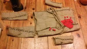 voodoo doll costume burlap sacks