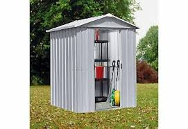 yardmaster apex metal garden shed