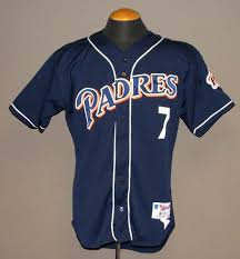 san go padres game used jersey