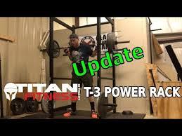 an fitness t 3 power rack update