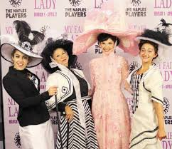 Opening night at the Sugden for 'My Fair Lady' by The Naples ...