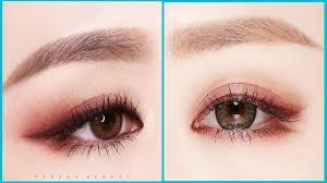korean eye makeup tutorial cat eye makeup