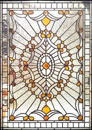 stained and leaded glass sidelight