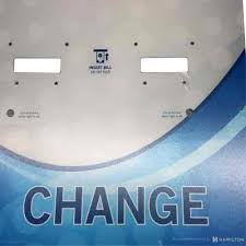 Changer Faceplate Decal Car Wash Decals Shop Online Hamilton 63 0405 01 Drs O S