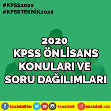 2020 KPSS Önlisans Konuları ve Soru... - Kpss Teknik Hocası
