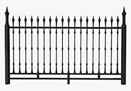 Gate Clipart Transparent Background Iron Fence Clipart Hd Png Download Transparent Png Image Pngitem