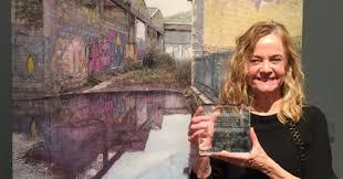 MAKING A MARK: Ana Schmidt wins Threadneedle Prize 2018