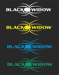 Black Widow Car Window Decal 2 For 1 Price Pick Your Size And Color Car Window Decals Car Window Window Decals