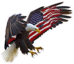 American Eagle American Flag Magnet Decal Nostalgia Decals Die Cut Vinyl Stickers Nostalgia Decals Online