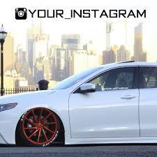 Custom Instagram Decal Instagram Sticker Instagram Car Decals