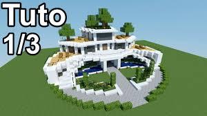 minecraft tutoriel maison moderne 1