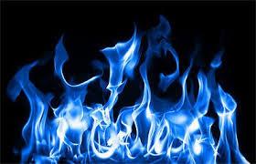 Blue Fire Flames Vinyl Sticker Decal Motorcycle Guitar Helmet Or Custom 5 75 Flame Art Blue Flames Skull Wallpaper