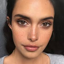 how to enhance freckles without makeup