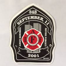 9 11 Anniversary Window Decal Oregon State Fire Fighters Council