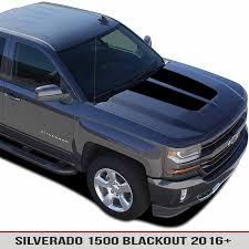 Hood Blackout Vinyl Decal For Chevy Silverado 1500 16 17 Alphavinyl