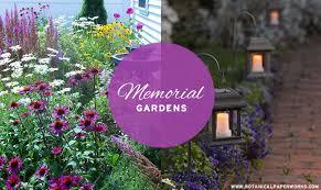 creating a memorial garden to honor