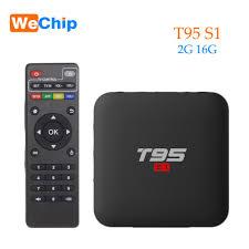 Smart Android 7.1 TV Box 2GB 16GB H.264 HD Media Player T95 S1 2.4G Wifi  Wireless Amlogic S905W quad-core PK X96 mini tx3 mini - Gadget Company