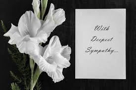 How to Write a Meaningful Condolence Message   Vaughn C Greene Fun...