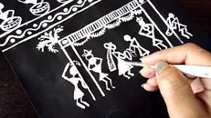 warli painting traditional cooking