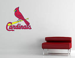 St Louis Cardinals Mlb Wall Decal Vinyl Sticker Decor Baseball Extra Large L330 Ebay