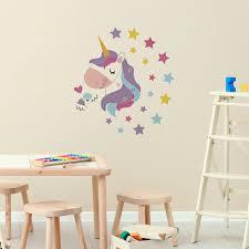 Zoomie Kids Magical Unicorn Wall Decal Wayfair
