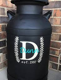Milk Can Decal Decal For Milk Can Front Porch Decor Etsy