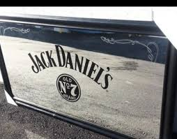 tennessee whiskey old no 7 etched bar