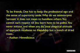 top no ego in friendship quotes sayings