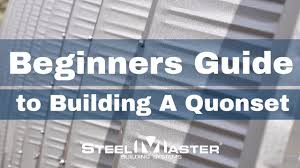 how to build a quonset hut home step
