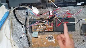 Giới thiệu bo mạch các mã lỗi trên máy giặt Panasonic U12 h01 h02 ...
