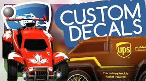 How To Get Custom Decals In Rocket League Tutorial Youtube