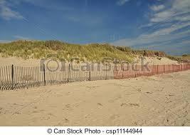 Dune Fence Erosion Control Fences Along Beach Sand Dunes